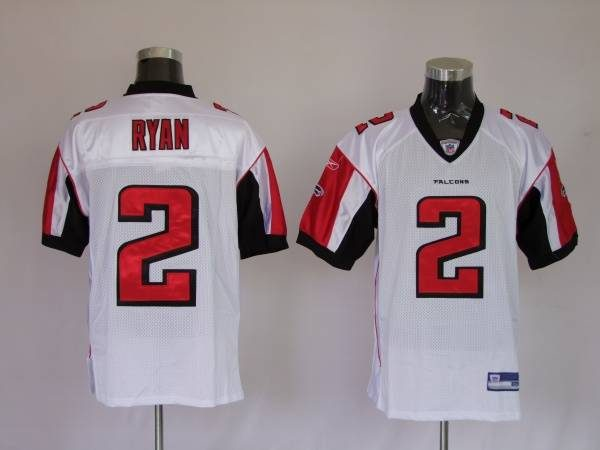 the best attitude 648e1 40d50 Falcons #2 Matt Ryan White Stitched NFL Jersey