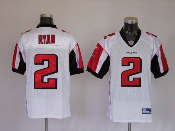 the best attitude c36bb 7cdb3 Falcons #2 Matt Ryan White Stitched NFL Jersey
